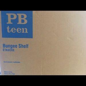 Pottery Barn Teen Bungee Cord Shelf NWT